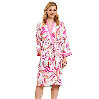 Féraud 3201088-10561 Women's Couture Pink Multicolour Dressing Gown