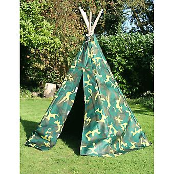 Garden Games: Camouflage Wigwam Play Tent