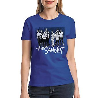 Sandlot Team Women's Royal Blue T-shirt