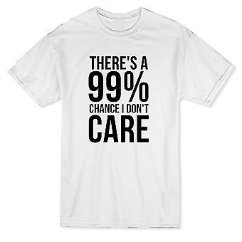 99% の確率で気面白いメンズ t シャツをしないでください。