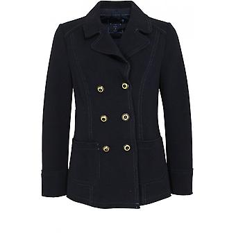Bianca Navy Military Style Jacket