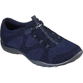 Skechers kvinner's puste-lett slip på sko ulike farger 30326