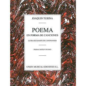 Joaquin Turina  Poema En Forma De Canciones by By composer Joaquin Turina
