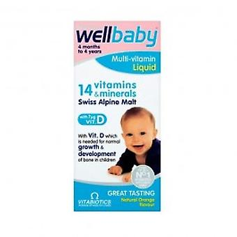 Vitabiotics - Wellkid Multivitamin Liquid 150ml