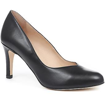 Jones Bootmaker Womens Anais Leather Court Shoes
