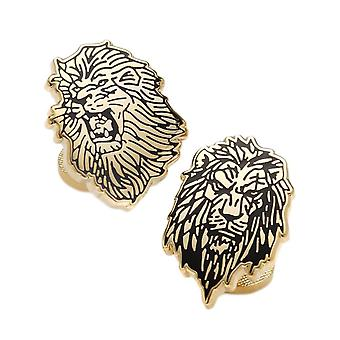 Disney Lion King Simba et Scar Gold Plaqued Cufflinks