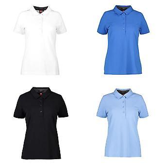 ID Womens/Ladies Business Stretch Polo Shirt