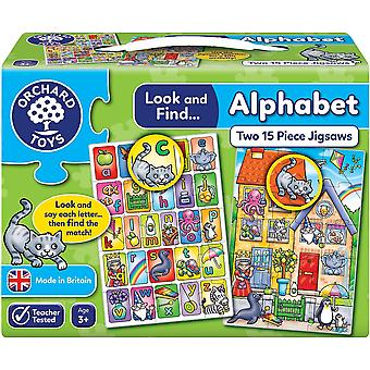 Orchard Toys Look And Find... Alphabet