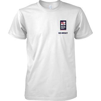 RN-Eishockey-Logo 2 - Königliche Marine Sport T-Shirt Farbe