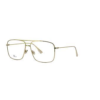 Dior STELLAIREO3 J5G Gold Glasses