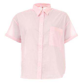 Frauen's Levis Maxine Shirt in rosa