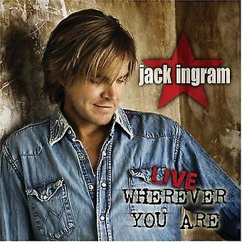 Jack Ingram - Live-Wherever You Ar [CD] USA import