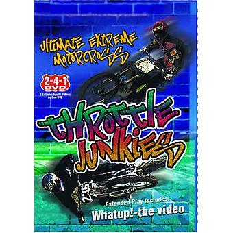 Throttle Junkies [DVD] USA import