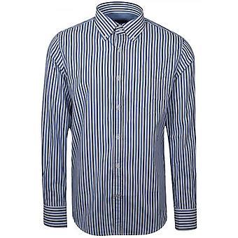 Paul & Shark Shark Fit blau gestreift langärmelige Shirt