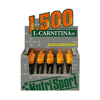 L Carnitine 1500 Strawberry 20 ampoules