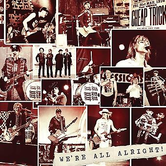 Cheap Trick - We're All Alright [CD] USA import