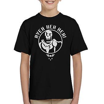 Undertale Papyrus Hyeh Heh Heh Kid's T-Shirt