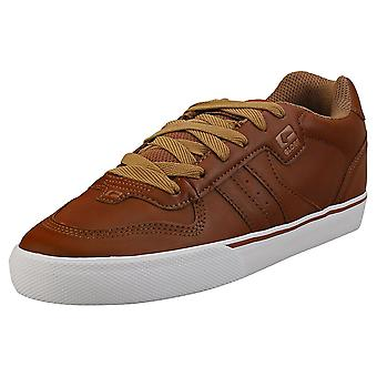 Globe Encore 2 Mens Skate Trainers in Brown