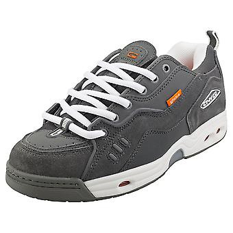 Globe Ct-iv Classic Mens Skate Trainers in Grey White