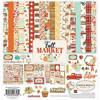 Carta Bella Fall Market 12x12 Inch Collection Kit