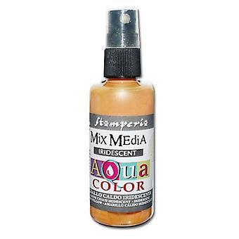 Stamperia Aquacolor Spray 60ml Warm Yellow