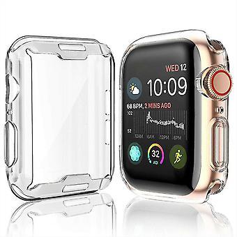TPU geeli tapauksessa Apple Watch reagoiva touch koko näytön kaareva reuna suojaava