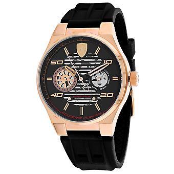 225, Ferrari Men & apos;s 830458 Quartz Black Watch