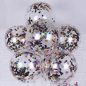 Glitter Confetti Latex Ballonnen - Baby Shower Decoratie