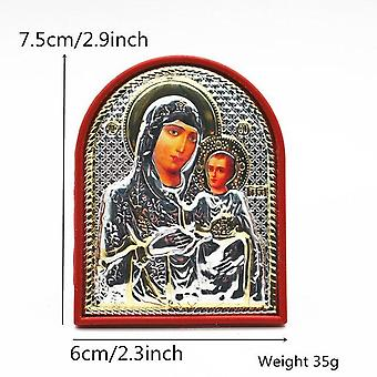 Orthodox Icon Religious Virgin Mary And Child As Mother Of Jesus