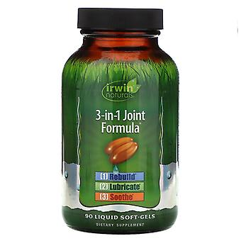 Irwin Naturals, 3-in-1 Joint Formula, 90 Liquid Soft-Gels