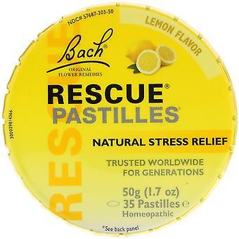 Bach, Original Flower Remedies, Rescue Pastilles, Natural Stress Relief, Lemon F