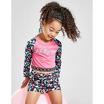 Nouveau McKenzie Girls-apos; Medley Long Sleeve T-Shirt Pink