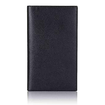 Black Saffiano Leather Breast Wallet