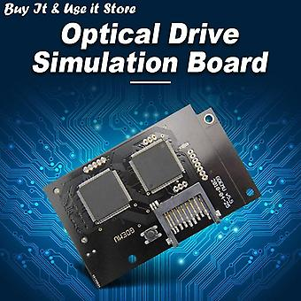 Optical Drive Simulation Board For Dc Game Machine The Second Generation