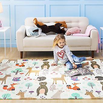 Baby Play Mat Puzzle, Paksuuntunut - Ryömivä pad taittuva matto