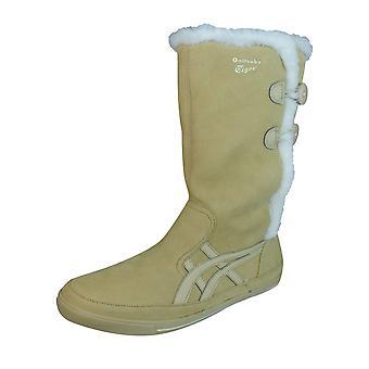 Onitsuka Tiger Sekka cristal Womens tornozelo botas / sapatos - bege