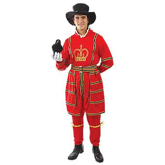 Orion kostuums mens Beefeater Royal Palace Guard Britse fancy dress kostuum