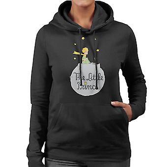 リトルプリンス小惑星ロゴ女性&アポス;sフード付きスウェットシャツ