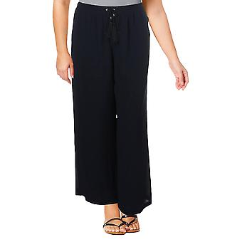 NY Collection | Chiffon Lined Wide Leg Pants