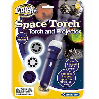 Eureka Toys Space Torch And Projector