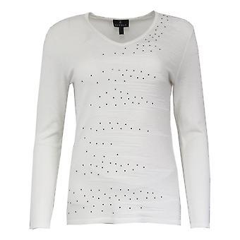MARBLE Marble Cream Sweater 5834
