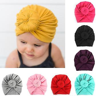 Bandeau Cotton Blends, Turban Bowknot Soft Rabbit