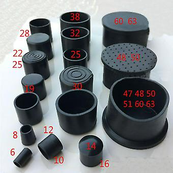 Pvc Soft Rubber, Rubber, Round Tube Foot Cover, Stainless Steel Tube Jacket,