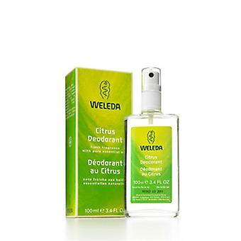 Weleda Citrus Deodorant, 3.4 FL Oz