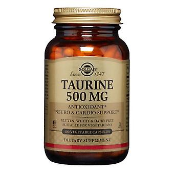 Solgar Taurin, 500 mg, 100 V Kepsar