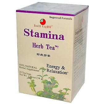 Health King Stamina Tea, 20bg