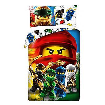 LEGO® Ninjago Everyone Duvet Cover Set Bed Set 140x200 + 70x90cm