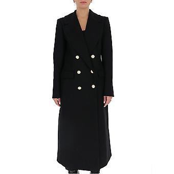 Amen Couture Acw20111009 Women's Black Wool Coat