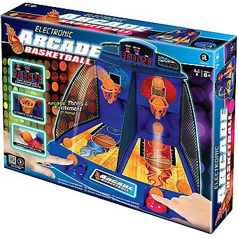 Elektroniska Arcade basketspel