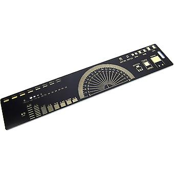 20cm Electronic Component Identifier Ruler